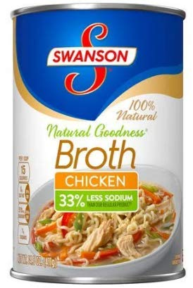 Swanson Chicken Broth 14.5 Oz Can - (Pack of 6)