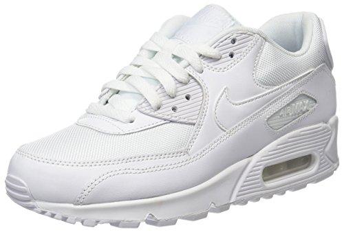 Nike Air Max 90 LTR 302519-113, Scarpe da Ginnastica Basse Uomo, Bianco (White 302519/113), 42.5 EU