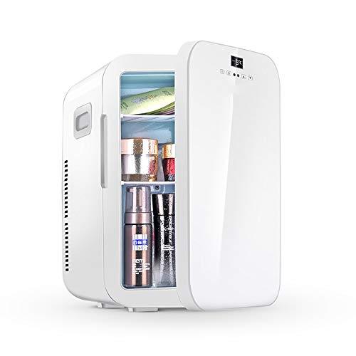 ZRXRY Mini-Kühlschrank, 20L Skincare Kühlschrank mit Temperaturregelung, AC/DC 12V Tragbarer Thermoelectric Cooler und Wärmer für Schlafzimmer, Kosmetik, Medikamente, zu Hause und unterwegs