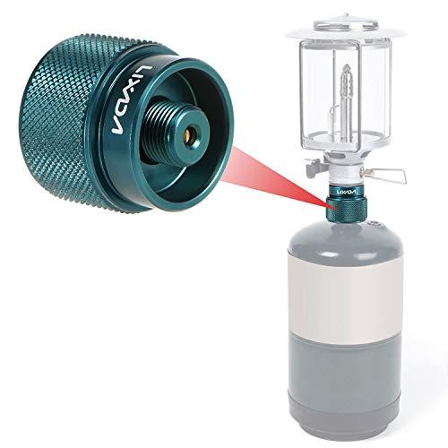 Lixada adapter voor drinkcontainers, GLP, 1 l, propaan, voor camping, outdoor, tankomgang, klein, EN417
