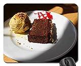 Mouse Pad - Food Chocolate Dessert Teller Kuchen Zucker hausgemacht