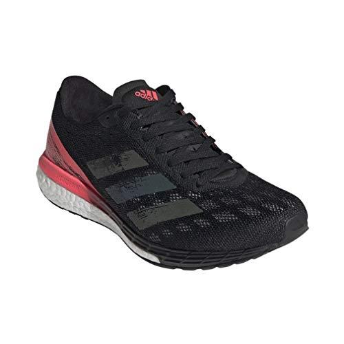 adidas Damen Adizero Boston 9 w Sneaker, Negbás/Negbás/Rossen, 42 EU