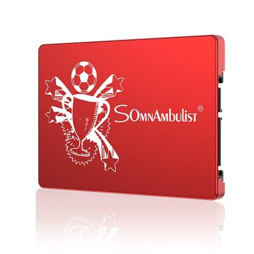 Somnambulist Disco rigido interno SSD da 60 GB 120 GB 240 GB 960 GB 2 TB SATA3 SSD da 2,5 pollici SSD da 480 GB SSD (trofeo rosso 240GB)