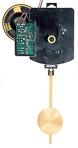 Funkpendelwerk FW mit Schlag von Selva – Ideal als Ersatz-Uhrwerk mit vollelektronischem besonders kräftigem Schlag. 3 wählbare Schlagarten – German Technology die ür die Zeigerwerkslänge 18,5mm