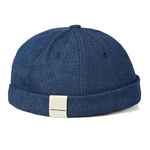 TOSSPER Sombrero Ajustable 1pc Beanie Trabajador Sombrero De Marinero Propietario Sombrero Retro