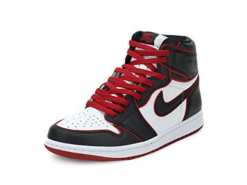 Nike Jordan 1 Retro High OG Mens Fashion-Sneakers 555088-062_9 - Black/Gym RED-White