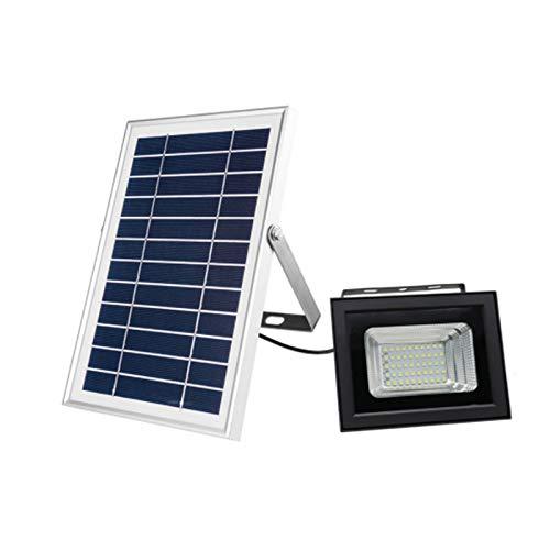 JVSISM Luci di Inondazione Solari di LED, Proiettore di Sicurezza Esterna, Impermeabile, Telecomando, Illuminazione di Paesaggio Riflettore Solare per Illuminazione di Decking