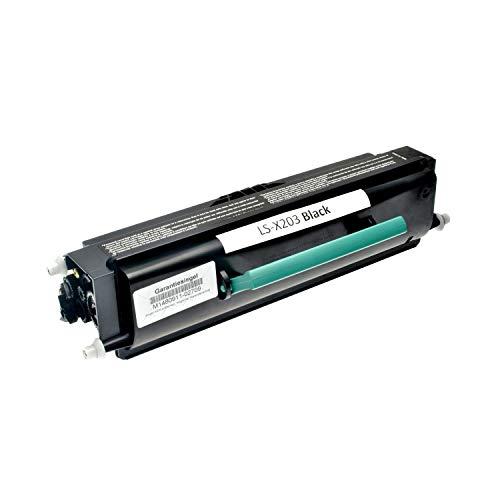 Toner kompatibel für Lexmark X203 N X204N X200 Series - X203A21G - Schwarz 2.500 Seiten