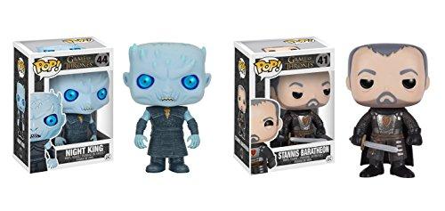 Funko POP! Juego de Tronos:Rey de la Noche + Stannis Baratheon