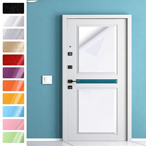 KINLO Graz Design - Adesivo per mobili, 40 x 500 cm, colore: Bianco