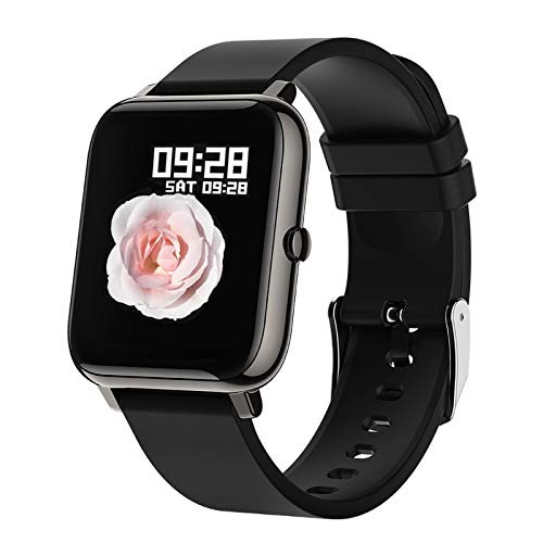 SKMEI Smart Watch, Waterproof Smart Watch for Men Women, Fitness Tracker with Heart Rate Monitor Blood Pressure Blood Oxygen, Smartwatch Activity Tracker Pedometer Calories for Android iPhone