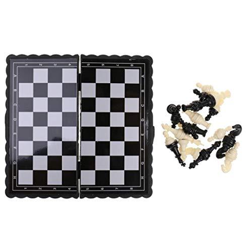 DUOER home Juego de Mesa de ajedrez 1 UNID Antiguo Plástico Internacional...
