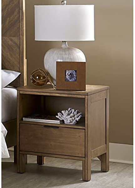 Progressive Furniture B100 43 Strategy Nightstand Jute
