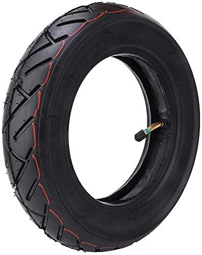 HZWDD 10 Pulgadas Neumático Inflable para Scooter, 10 * 2.50Neumático Reemplazo Patinete Electrico,Camara Aire 1Reemplazo para Patinete Electrico