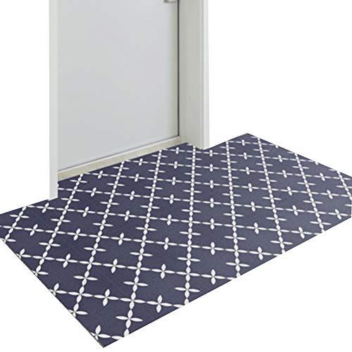 ZWRYW Deurmat, textiel, deurmat, tapijten, huisingang, 10 mm dik, antislip, balkon, binnengeleider, gemakkelijk te reinigen, op maat te snijden