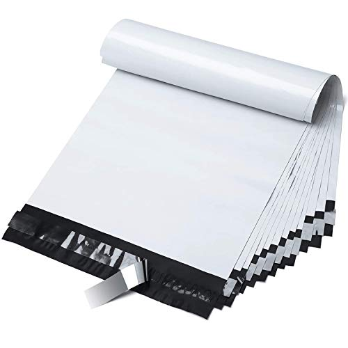 9x12 200pc white Poly Mailers
