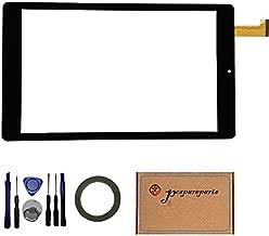 pcspareparts Digitizer Touch Screen for Nextbook Ares 8 NXA8QC116R NXA8QC116B 8 Inch Windows Tablet PC +open tools