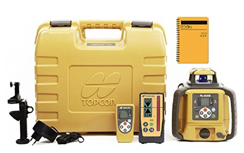 New Topcon RL-SV2S Dual Grade Rotary Laser with BONUS EDEN Field Book   IP66 Rating Drop, Dust, Water Resistant   800m Construction Laser (RL-SV2S Rechargeable w/LS-100D)