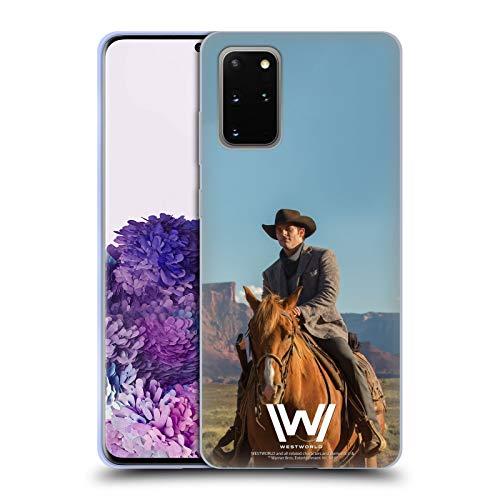 Head Case Designs Offizielle Westworld Teddy Flood Darsteller Soft Gel Huelle kompatibel mit Samsung Galaxy S20+ / S20+ 5G