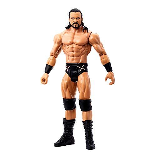 WWE GVJ76 - WrestleMania Drew McIntyre Actionfigur, ca. 15cm, beweglich, zum Sammeln und als Geschenk, für Kinder ab 6 Jahren