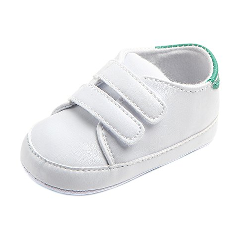FRAUIT Unisex babyschoenen, zachte zool, sneaker, T-strap, schoenen, sportschoenen, jongens, loopschoenen, meisjes, kribbeschoenen, kruipschoenen, strepen-casual wandelschoenen