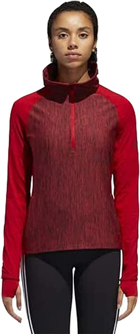 adidas Women's Training Fashion Performer Baseline 1 T Zip Long Sleeve New products world's highest quality popular 4