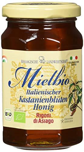 Rigoni di Asiago Mielbio - Honig - Kastanienblüten Bio, 1er Pack (1 x 300 g)