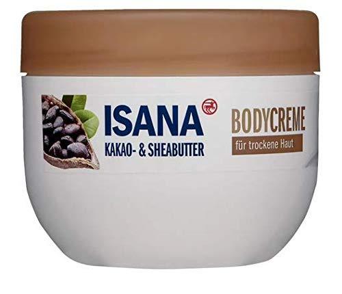 Body Creme Kakao- & Sheabutter - Für trockene Haut - Pflegende Feuchtigkeitscreme - 500 ml