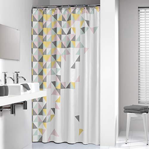 Sealskin Textil Duschvorhang Tangram, B x H: 180 x 200 cm