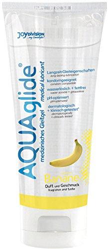Joydivision AQUAglide Gleitmittel Banane, 100 ml