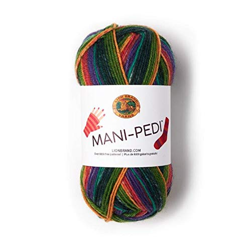 Lion Brand Yarn Mani-Pedi Yarn, Crew (1 skein/ball)