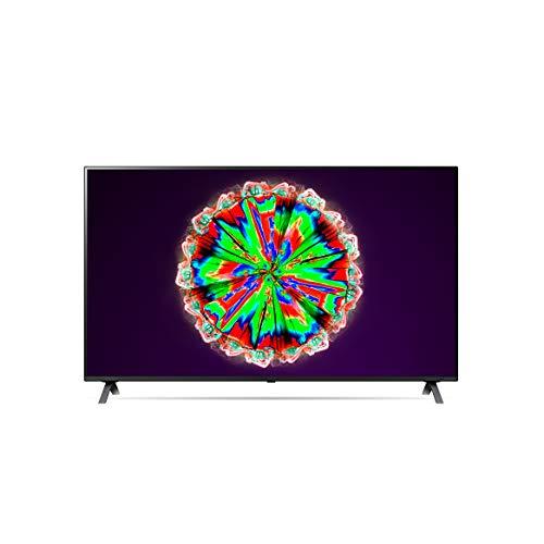LG 65NANO806NA 164 cm (65 Zoll) NanoCell Fernseher (4K, Triple Tuner (DVB-T2/T,-C,-S2/S), Active HDR, 50 Hz, Smart TV) [Modelljahr 2020]