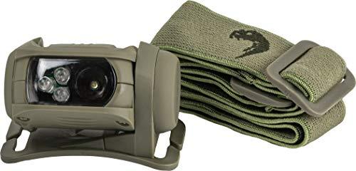 Viper TACTICAL Special Ops - Linterna Frontal - Verde - Verde