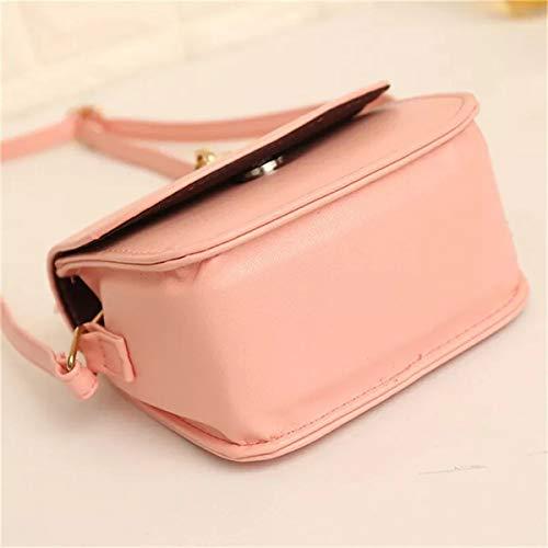 Typify Women's Pu Leather Tassel Sling Bag (Pink)