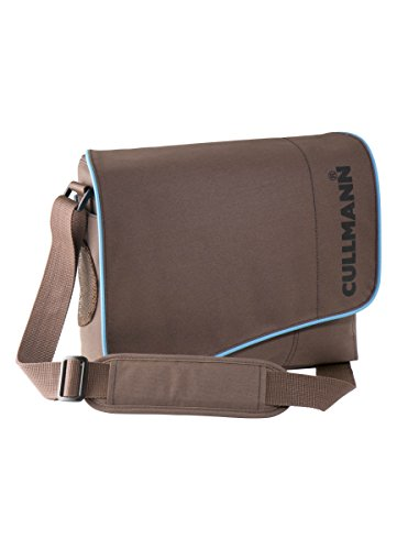 Cullmann Madrid Maxima 330 SLR-Kameratasche (Messenger, für DSLR mit Objektiv, zusätzlichem Objektiv + Blitzgerät, Zubehör) braun
