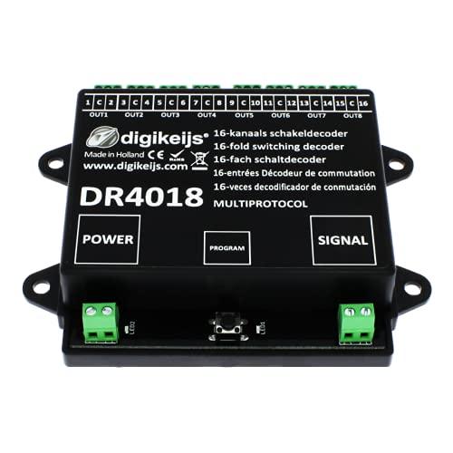 Digikeijs DR4018 16-Kanal Weichendecoder / Schaltdecoder