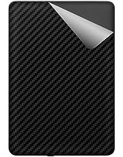 スキンシール Kindle Paperwhite (第10世代・2018年11月発売モデル) 【カーボン調・ブラック】