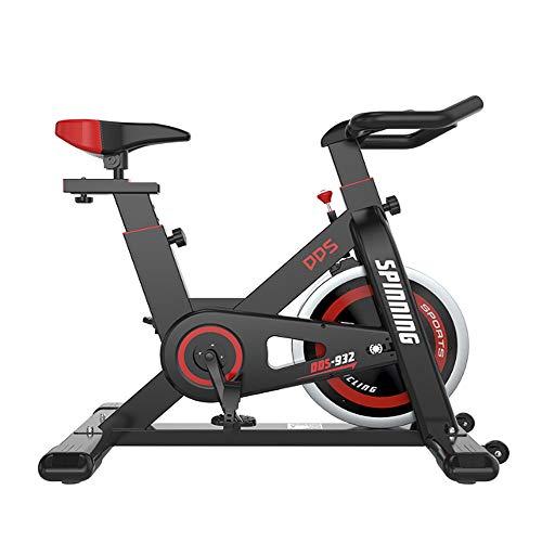K-DD Bicicleta Estática Vertical,Profesional Bicicleta Spinning,Bicicleta De Ejercicios para Ciclismo Indoor,Transmisión por...