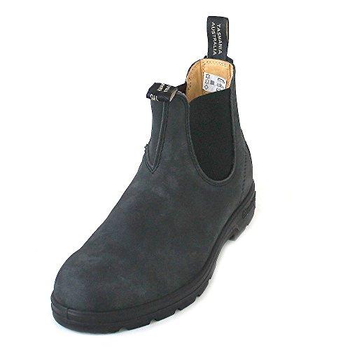 BLUNDSTONE Classic 587, Unisex-Erwachsene Chelsea Boots, Schwarz (Nero), 41 EU