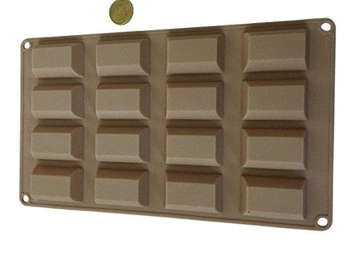 ROYAL HOUSEWARE - Stampo in silicone per cioccolatini, cubetti di ghiaccio, cioccolatini, caramelle, cioccolatini, barrette di cioccolato fai da te, stampo per dolci