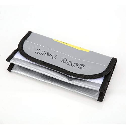 Ashley GAO Bolsa de batería LiPo ignífuga LiPo Safe Guard Caja de carga Bolsa Bolsa de saco a prueba de explosiones para RC Modelo Drone Car