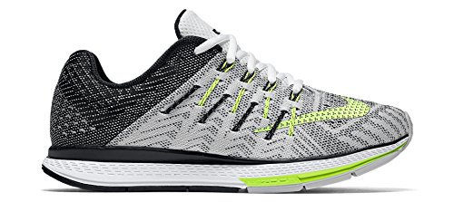 Nike Damen W Run Air Zoom Elite 8 Cp Laufschuhe, schwarz/weiß/gelb, 36.5 EU