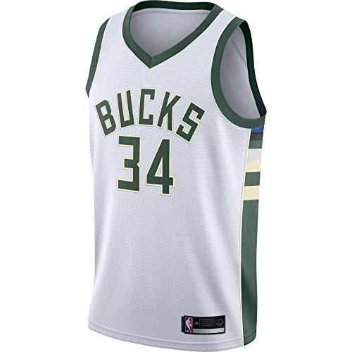 Giannis Antetokounmpo Milwaukee Bucks Youth Swingman Jersey (Medium 10/12, Giannis Antetokounmpo Milwaukee Bucks White)