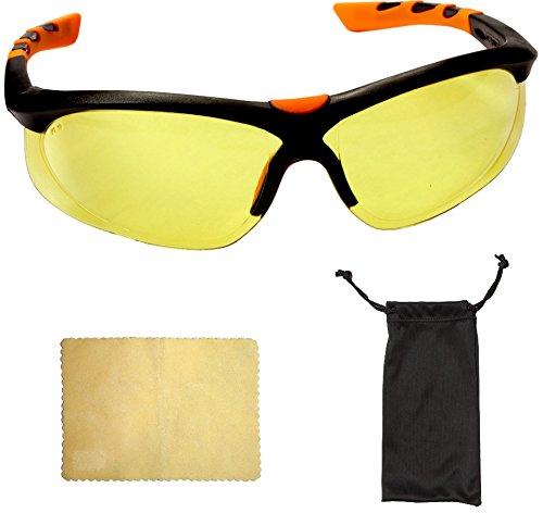 Viwanda - Gafas Protectoras Amarillas Montura Negro