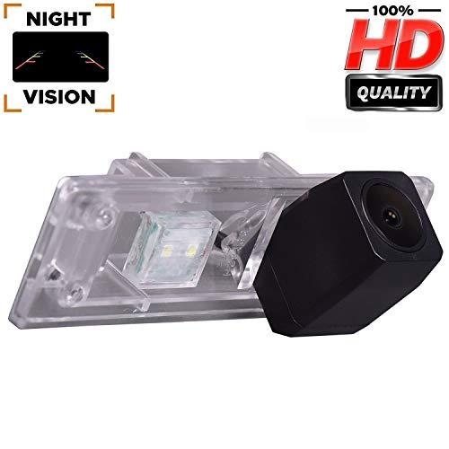 Telecamera HD per retromarcia auto, a colori, telecamera posteriore, impermeabile, con ampia visione notturna, per BMW Serie 1 M1 E81 E87 F20 F21 116i 118i 120i 135i 640I