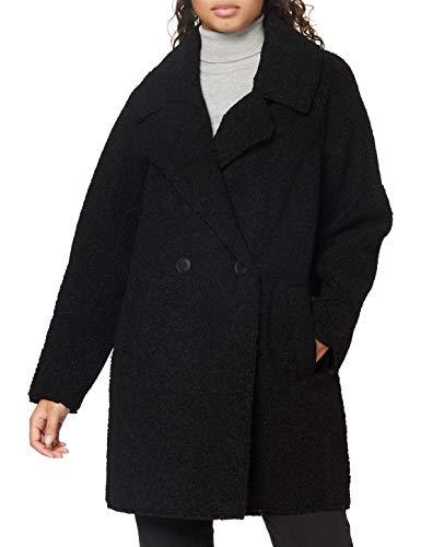 ESPRIT Collection Damen 080EO1G336 Jacke, 001/BLACK, L