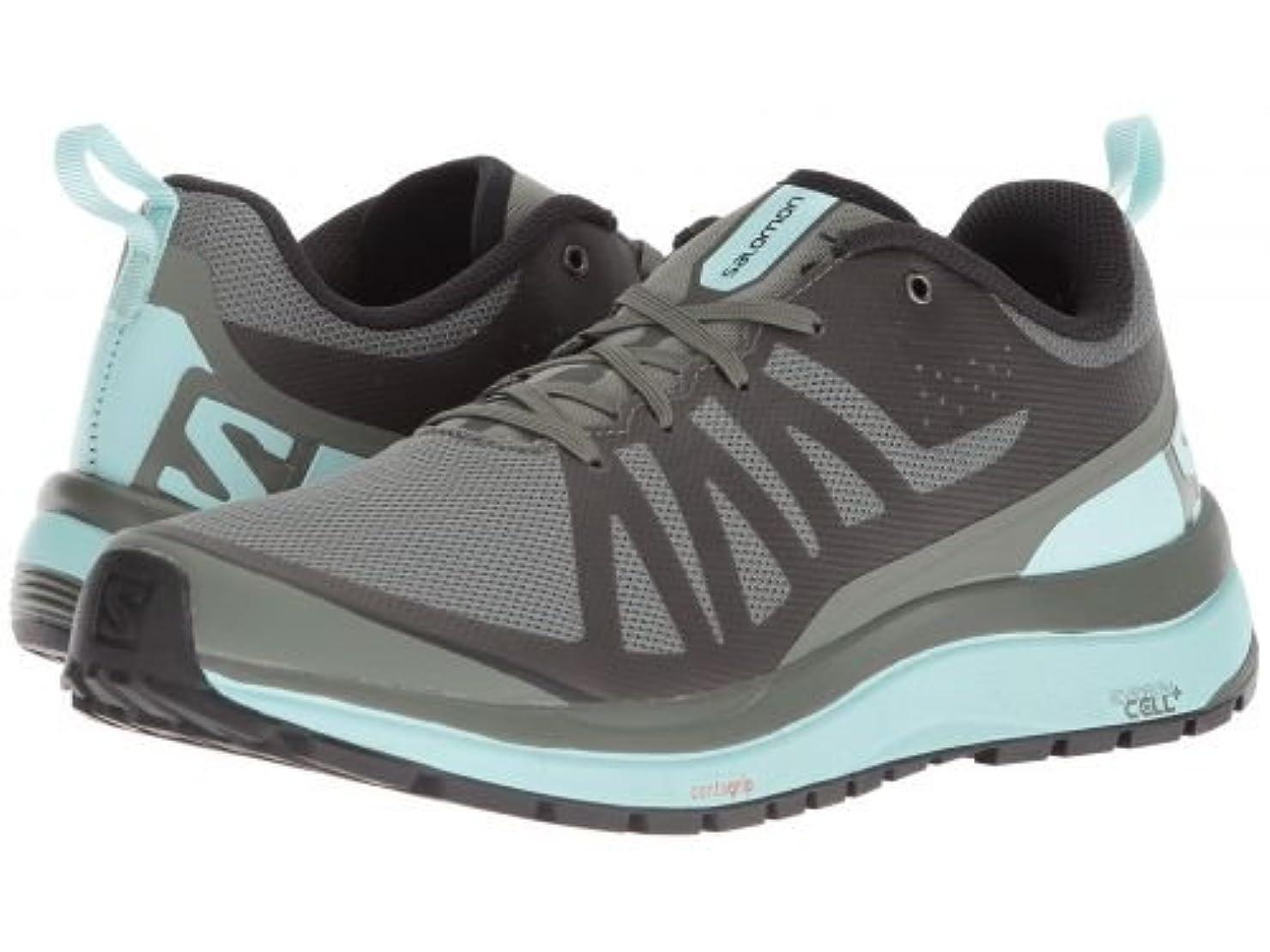 殺す艶隣接Salomon(サロモン) レディース 女性用 シューズ 靴 スニーカー 運動靴 Odyssey Pro - Castor Gray/Eggshell Blue/Black 8.5 B - Medium [並行輸入品]