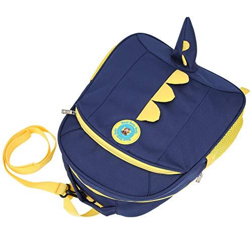Asixxsix Bolsa para niños de Material de Tela Oxford, Espacio Suficiente para Las Cosas de los niños, Mochila Preescolar, para Actividades al Aire Libre en casa(Navy Blue)