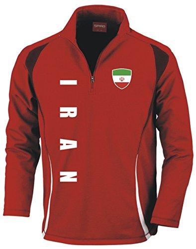 Aprom-Sports Iran Trainingstop - Fussball Sport - Rot (M)