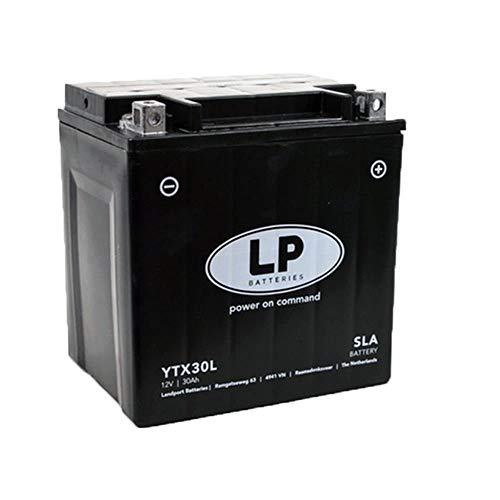 LANDPORT YTX30L Batterie 12V 30aH für Artic Cat, Polaris [inkl. 7.50 Batteriepfand]